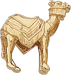 Gold Camel Icon