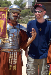 Me and a Roman soldier