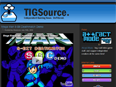 TIGSource.com screenshot